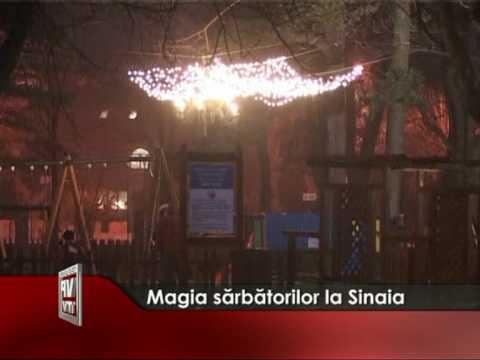 Magia sărbătorilor de iarnă la Sinaia