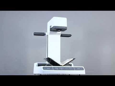 New universal book scanner ElarScan A2