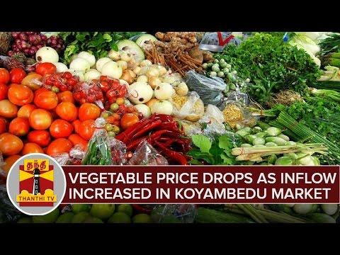 Vegetables-Price-Drops-as-Inflow-Increased-in-Koyambedu--Thanthi-TV