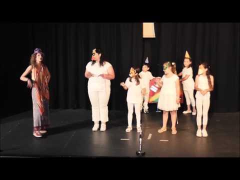Θεατρική Ομάδα Καλλιτεχνήματα Ο Μάγος με τα Χρώματα του Γιάννη Ξανθούλη 31 05 2017