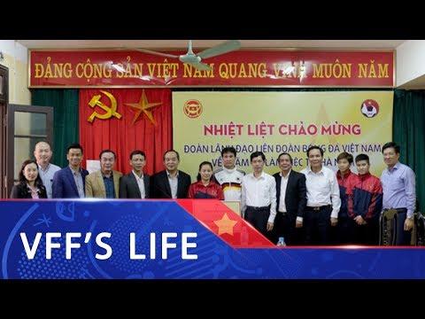 Chủ tịch VFF Lê Khánh Hải thăm và làm việc với bóng đá nữ Hà Nam | VFF Channel - Thời lượng: 114 giây.