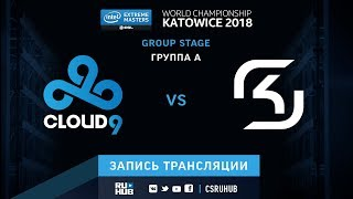 Cloud9 vs SK - IEM Katowice 2018 - map2 - de_mirage [ceh9, Enkanis]