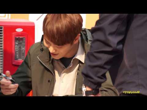 2016-03-12 Joo Won Mountia Sign Event at Guro AK Plaza 2 (видео)
