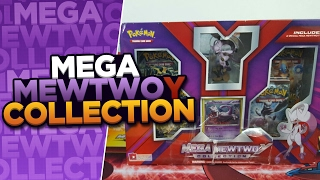 MEGA MEWTWO Y COLLECTION BOX OPENING of POKEMON CARDS by ThePokeCapital