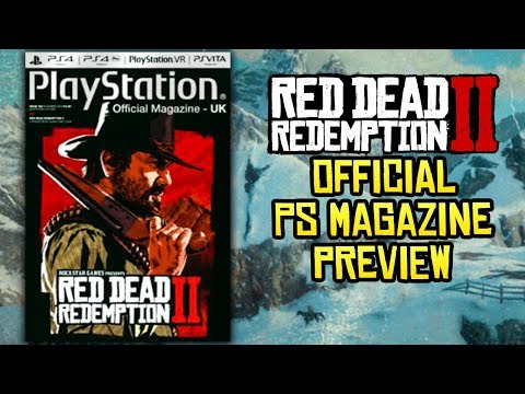 Red Dead Redemption 2 - Official Playstation Preview Info + New Trailer Coming This Week!?