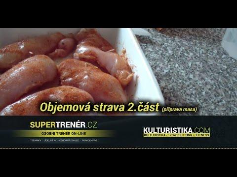 videolog - Supertrener.cz ve spolupráci s Kulturistika.com Vám přináší ukázku objemové stravy (2.část). Video je zaměřeno na přípravu masa, jak si vše usnadnit a připra...