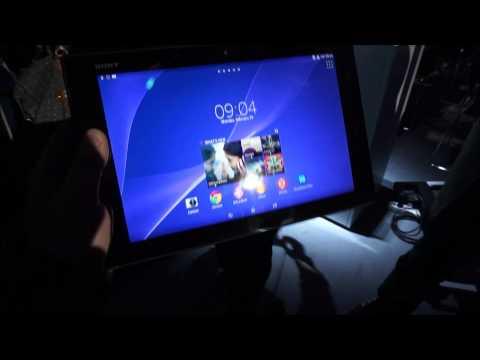 Sony Xperia Tablet Z2 la MWC 2014