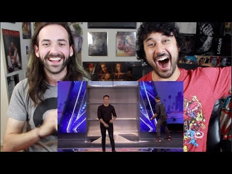 Demian Aditya: Escape Artist Risks His Life During AGT Audition - AMERICA'S GOT TALENT REACTION!!! (видео)