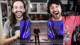 Download Video Demian Aditya: Escape Artist Risks His Life During AGT Audition - AMERICA'S GOT TALENT REACTION!!! MP3 3GP MP4