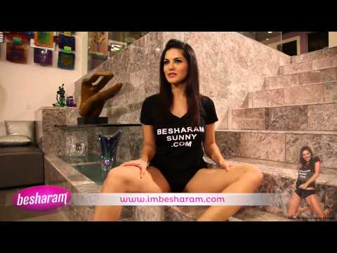Funny Sunny playing with a condom. Sunny Leone – Face of imBesharam_com 2013