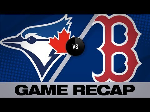 Video: Devers tallies 3 hits, 4 RBIs in win | Blue Jays-Red Sox Game Highlights 7/17/19