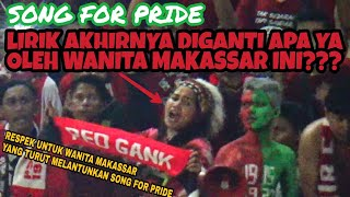 Download Video Terekam Kamera | Wanita Makassar Ini Menyanyikan Song For Pride Tapi Di Akhir Liriknya Diganti MP3 3GP MP4
