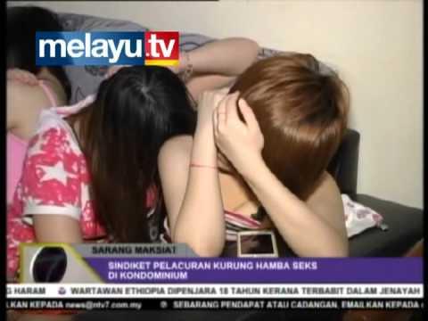 Pelacuran - sarang maksiat - sindiket pelacuran kurung hamba seks di kondominum. KEPONG, SELANGOR PROGRAM TV: NTV7 Edisi TARIKH: 14-07-2012 ----- website: http://melayu....