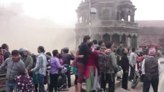 Patan Nepal  city pictures gallery : Inside the big Earthquake in Kathmandu Nepal, Patan Durbar Square (25.04.2015)