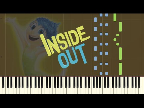 Bundle Of Joy - Inside Out Main Theme [Piano Tutorial] (Synthesia)