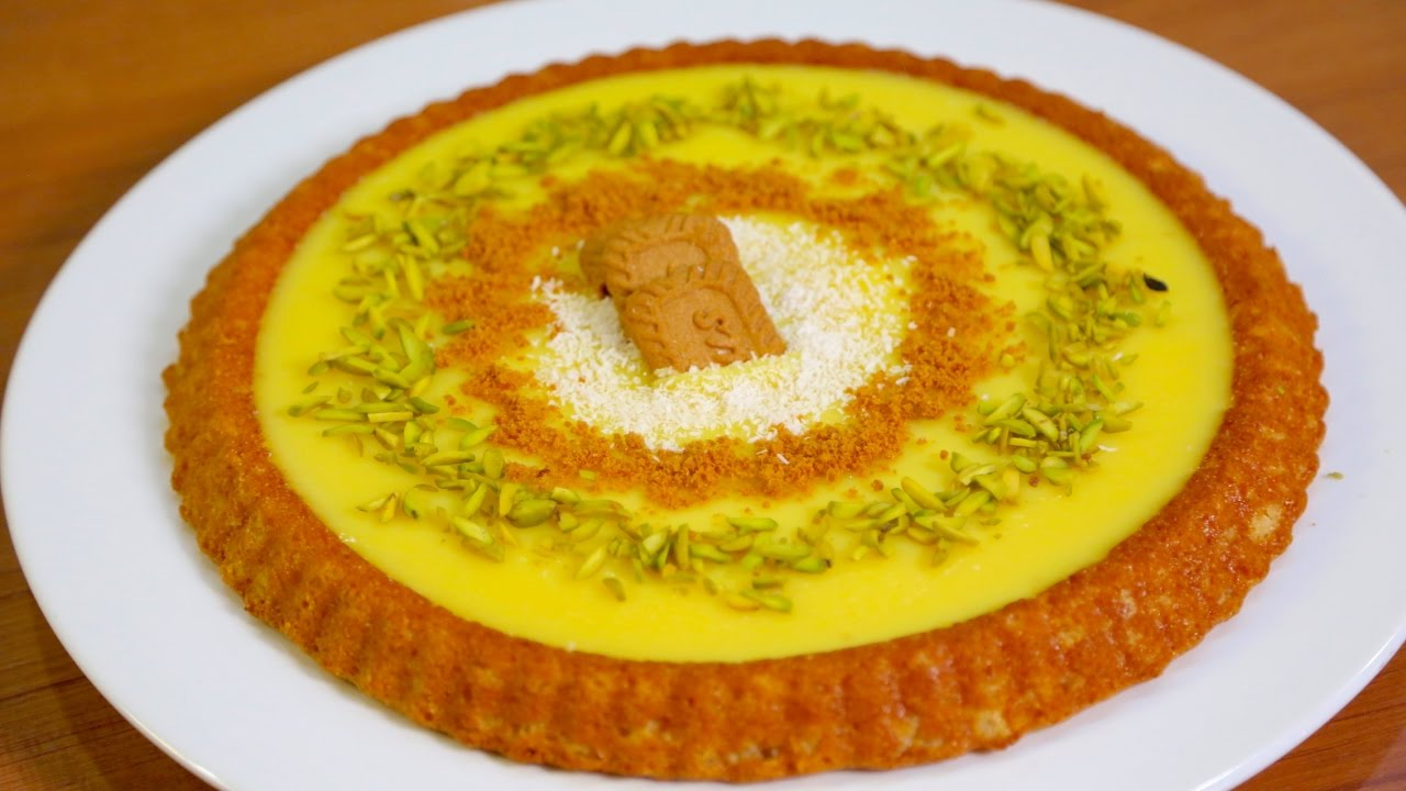 Semolina Cake with Custard