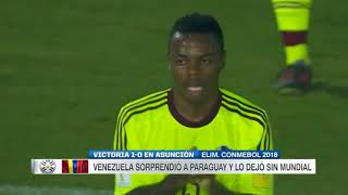 Video Paraguay vs Venezuela (0-1) Eliminatorias Sudamericanas Rusia 2018 Fecha 18 MP3, 3GP, MP4, WEBM, AVI, FLV Juni 2018