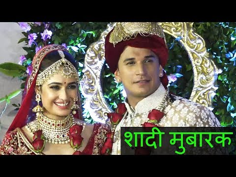 Prince Narula - Yuvika Chaudhary Get Married