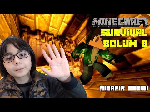 Minecraft Survival Game Serisi #S1 #8 - BKT