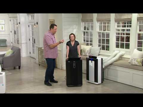 Haier 14,500BTU Dual Hose Portable Air Conditioner with Remote on QVC