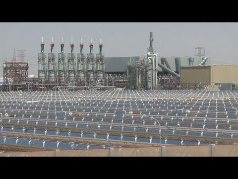 UAE opens world's largest CSP solar power plant