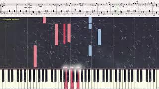 """Романс (повесть """"Метель"""") - Г. Свиридов (фрагмент) (Ноты и Видеоурок для фортепиано) (piano cover)"""