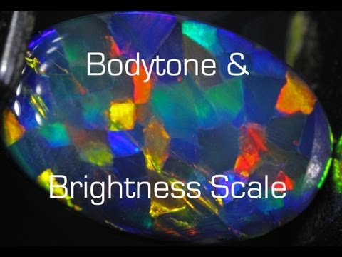 Opal bodytone and brightness grading system explained