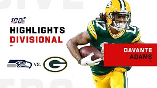 Davante Adams Puts on a Clinic vs. Seahawks   NFL 2019 Highlights