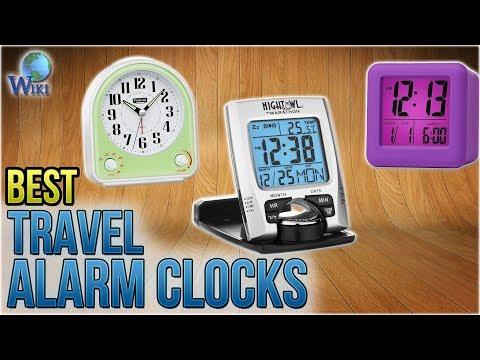 10 Best Travel Alarm Clocks 2018