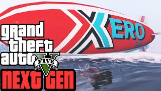 GTA 5 Next Gen Gameplay |  Blimp Driving! Funny Moments | Grand Theft Auto V