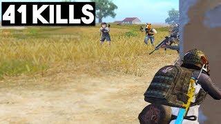 ALMOST A NEW WORLD RECORD! | 41 KILLS Duo vs Squad | PUBG Mobile
