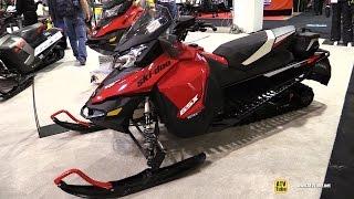 9. 2015 Ski-Doo GXS LE 900 Ace Snowmobile - Walkaround - 2014 Toronto ATV Show