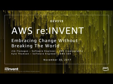 AWS Embracing Change