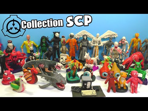 SCP with Clay - Part 2. My collection of Сlay figurines