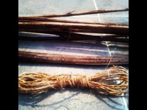 Indian Hemp - Part 2 - Making Cordage