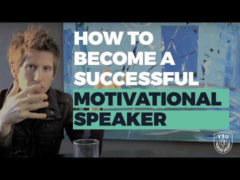 How to Become a Motivational Speaker: 1st Steps