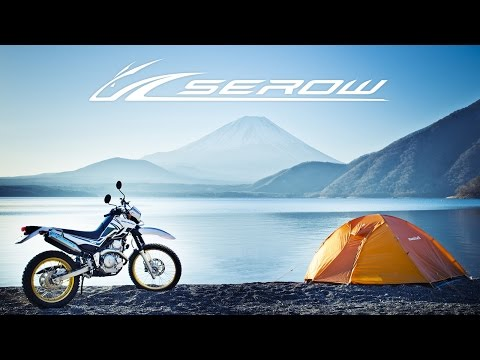 YAMAHA SEROW SOLO CAMP TOURING MOVIE