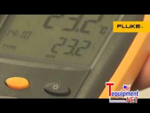 Fluke 50 Series II Contact Thermometers 51 II 52 II 53 II  54 II  50D 50S