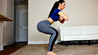 Day 2: Butt and Thigh Squat Workout for a Bigger Butt Lift