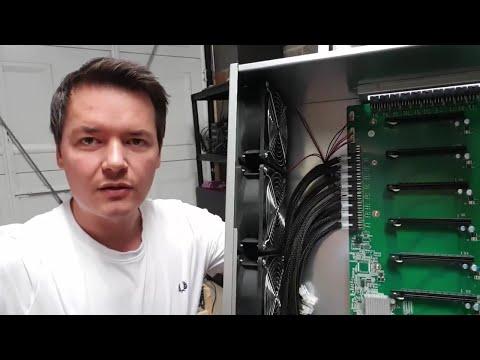 8 GPU Mining Box Overview - VLing Mining Sky Rig