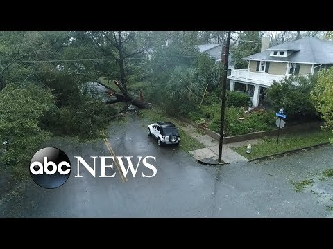 NC city hit hard by Hurricane Florence