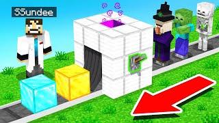 Turning MOBS into RARE BLOCKS (Minecraft Skyfactory)