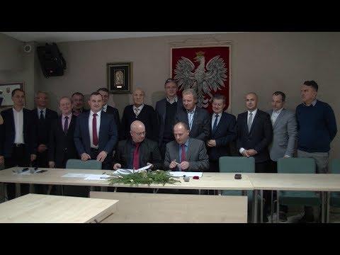 Podpisanie umowy na realizację Obwodnicy Włoszczowy