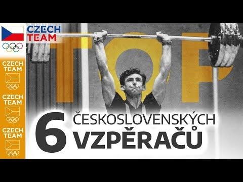 TOP: 6 československých vzpěračů