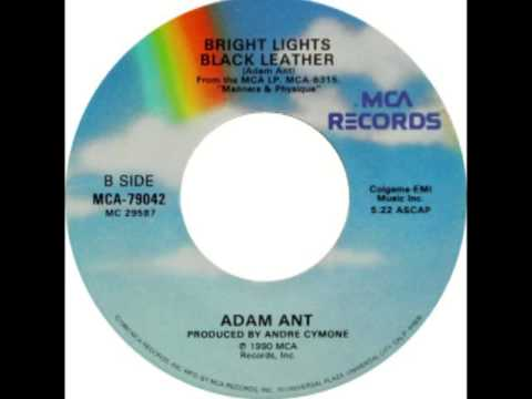 Adam Ant - Bright Lights Black Leather lyrics