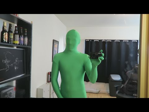 GREEN SCREEN GHOST PRANK!