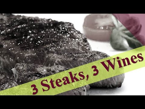 Red Wines for Steak: Three Recommendations