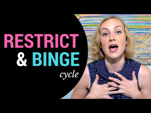 HOW TO STOP the Restrict, Binge & Purge Cycle?  | Mental Health Help with Kati Morton