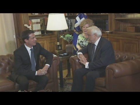 Συνάντηση Πρ. Παυλόπουλου με Μανουέλ Βαλς