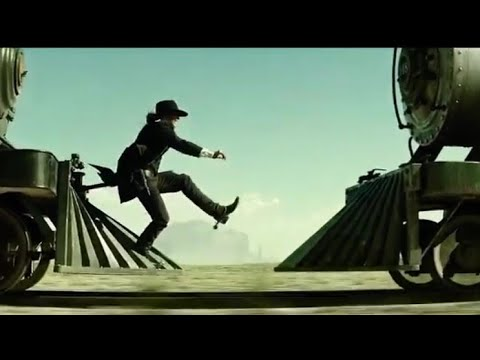 Lone Ranger Final Train Chase || The Lone Ranger Movie scene in Hindi
